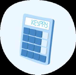 Accounting calculator icon