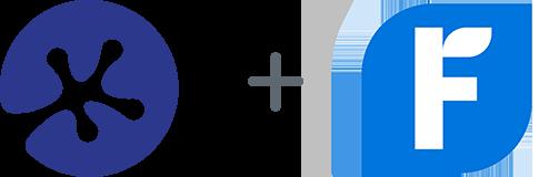 Keypay + Freshbooks logos