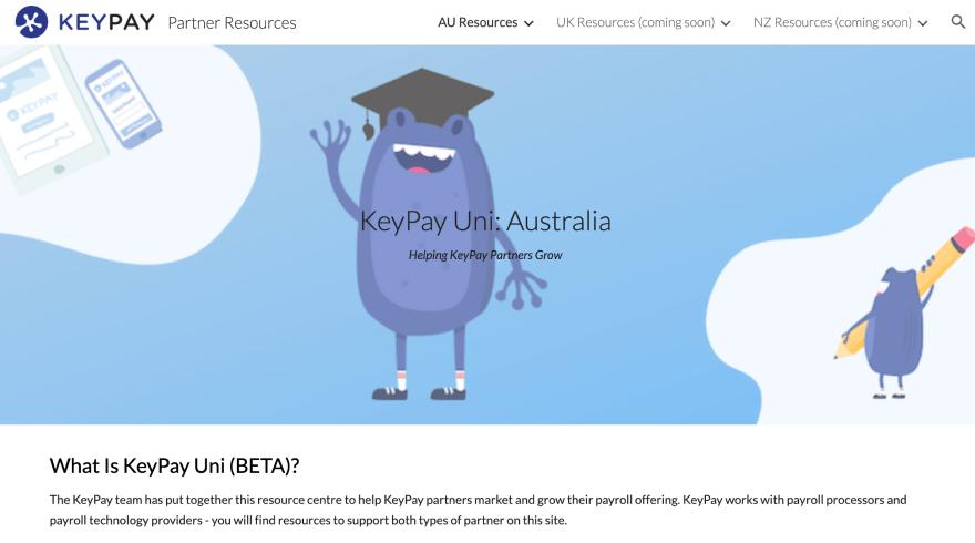 KeyPay Uni