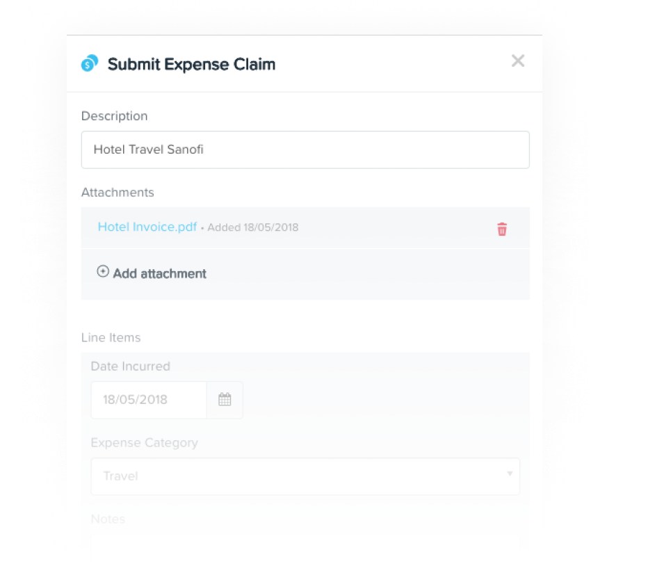 Claim Expenses - KeyPay