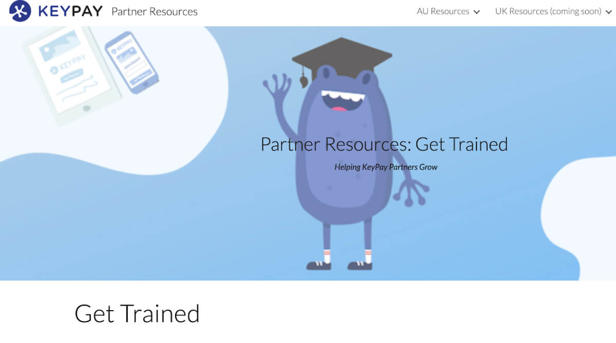 KeyPay Uni Get Trained