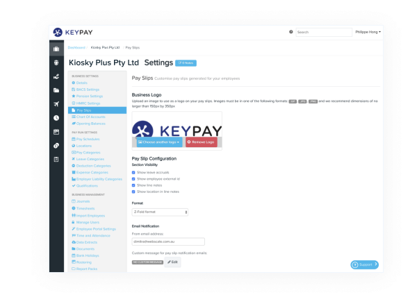 Submit Expenses - KeyPay