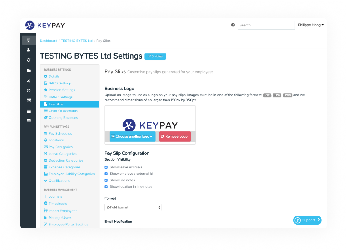 Build roster in a flash - Keypay