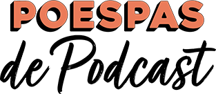 Poespas de Podcast logo in het hoofdmenu