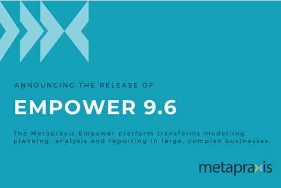 Metapraxis Empower 9.6. released