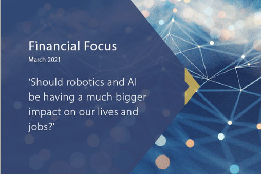 Financial Focus White paper: Robotics and AI impact