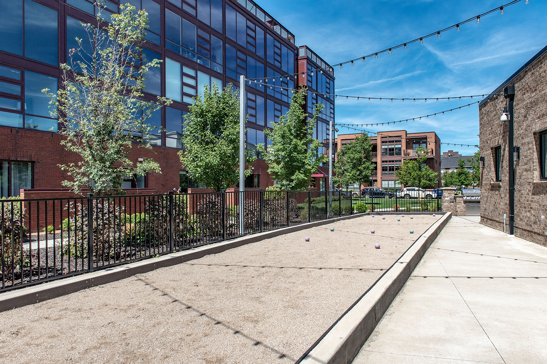 Community Room Bocce Court