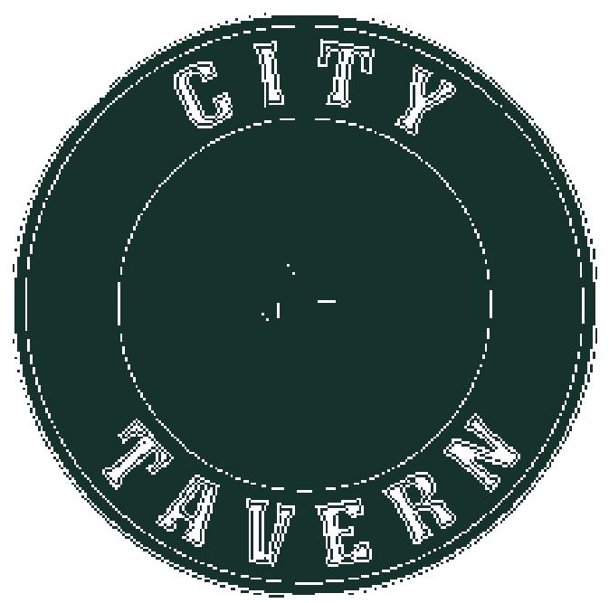 City Tavern Logo - Green