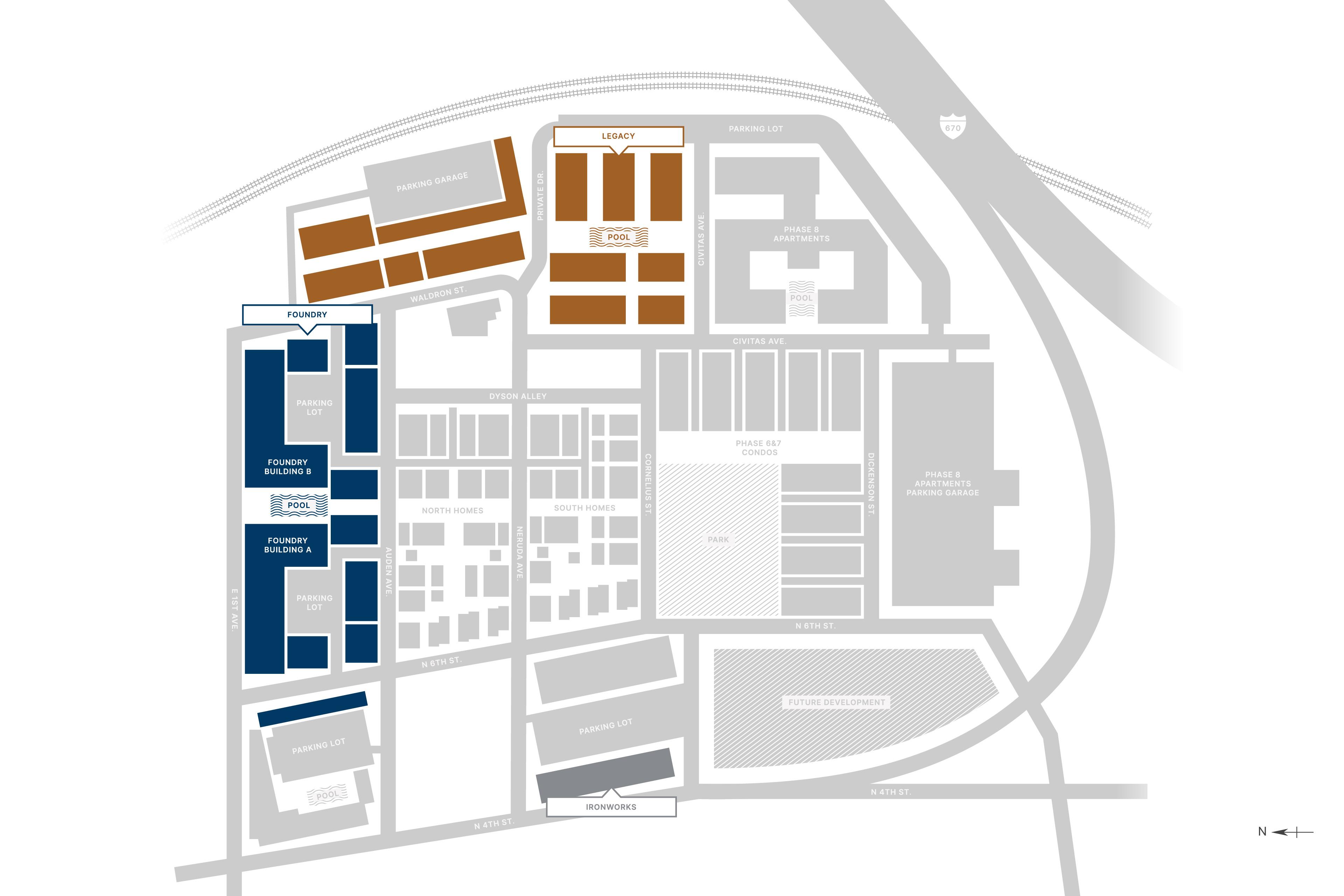 Jeffrey Park Full Site Map