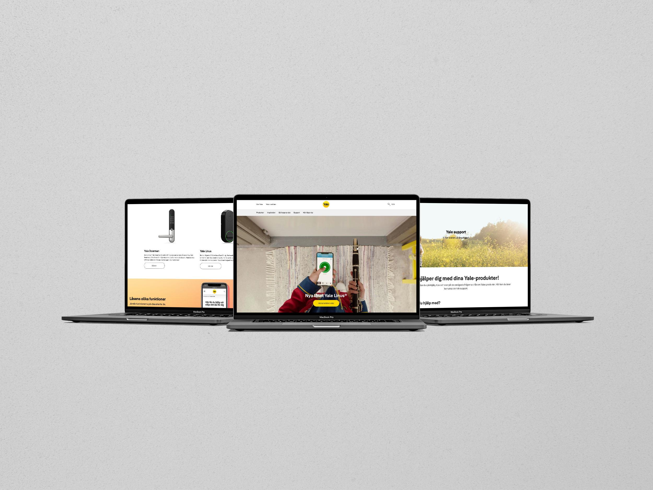 Webb för B2B-bolag som ger inspiration och support