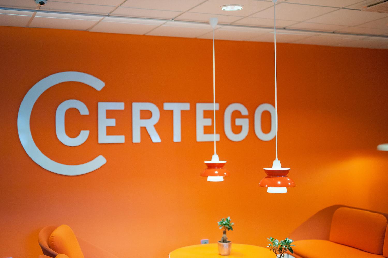 Projektledning av CERTEGO Groups webbsidor på 4 olika språk.