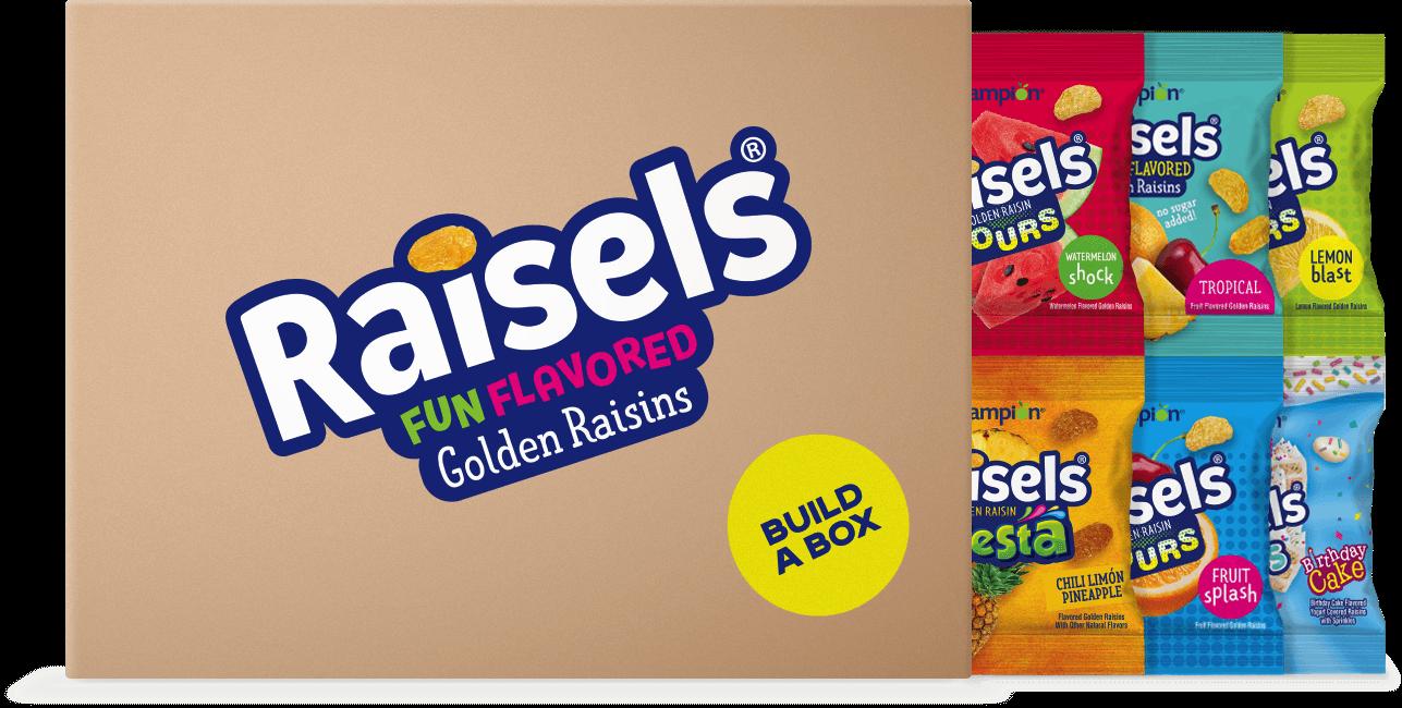 Raisels Shipper Box Image