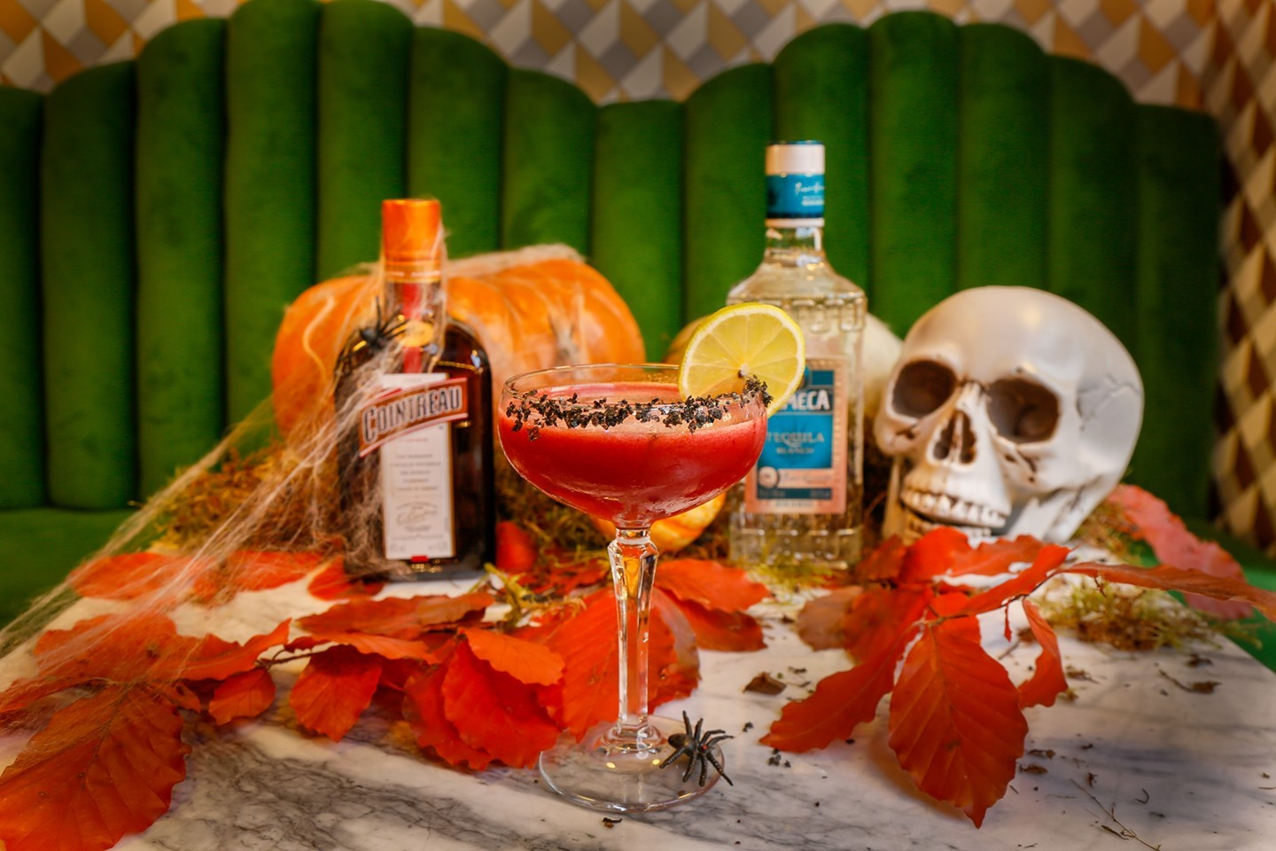 Mrs Riot's famous Black Margarita has had a spooky makeover! Are you ready for a week of spooks & scares with us?
