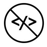 no code icon