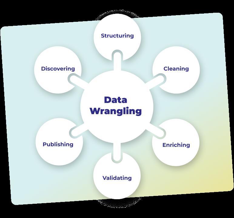 data wrangling process