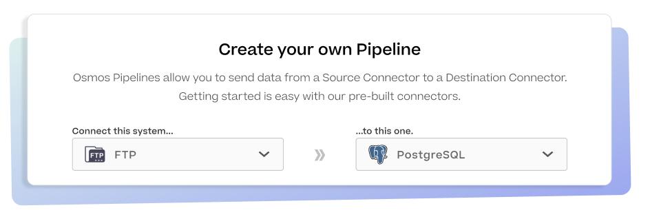 osmos no-code data pipelines