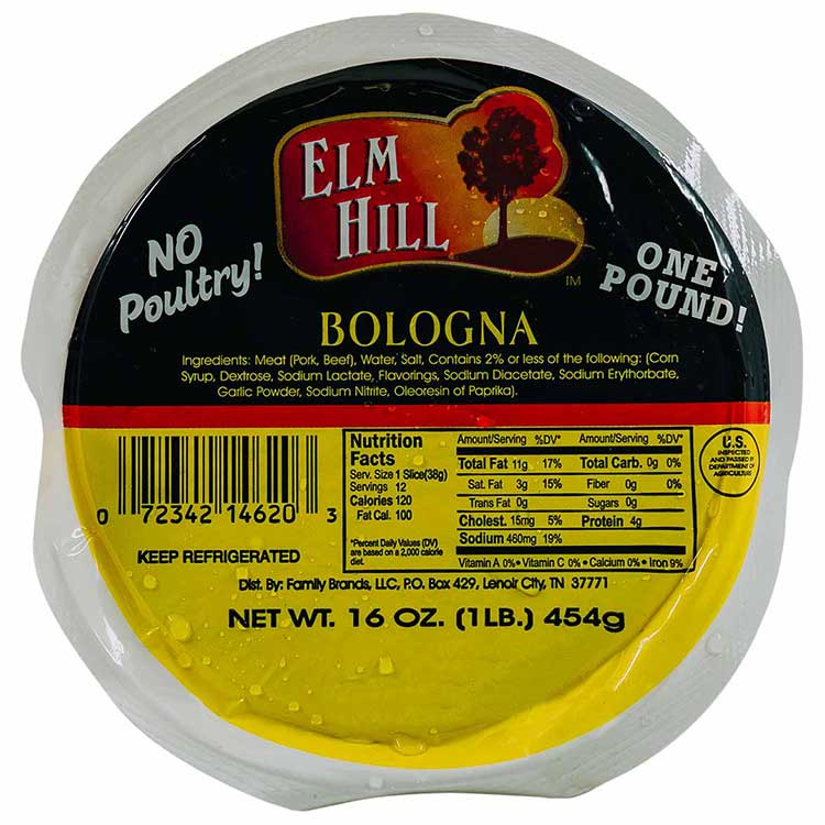 Elm Hill Meats - Elm Hill Bologna Packaging