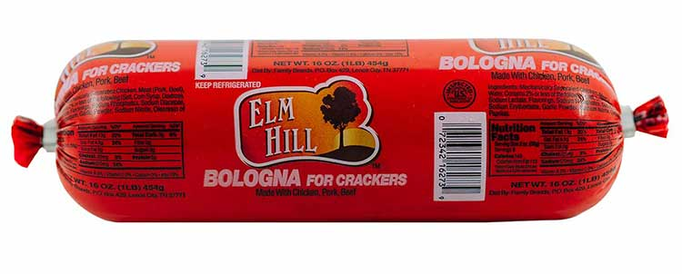 Elm Hill Meats - Bologna for Crackers