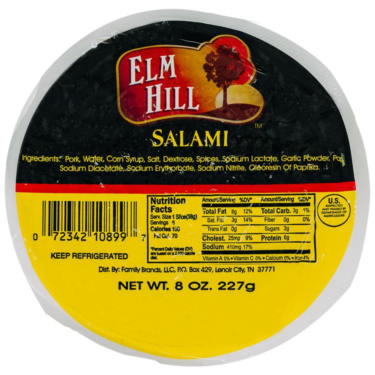 Elm Hill Meats - Salami Packaging