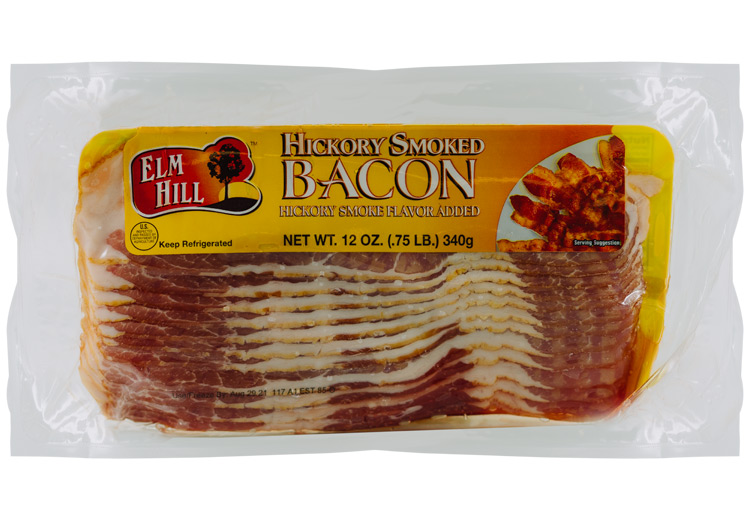 Elm Hill Meats - Hickory Smoked Bacon Packaging