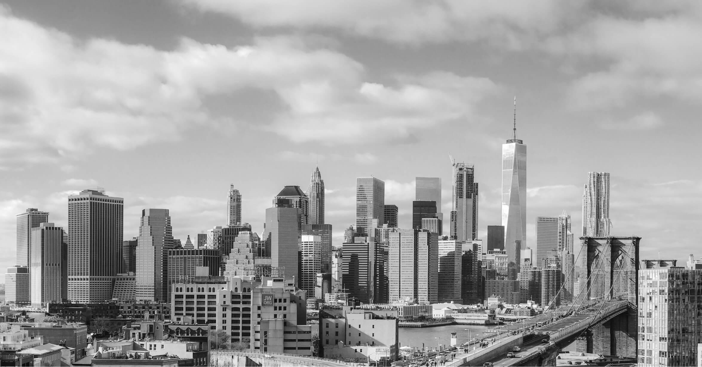 A city scape