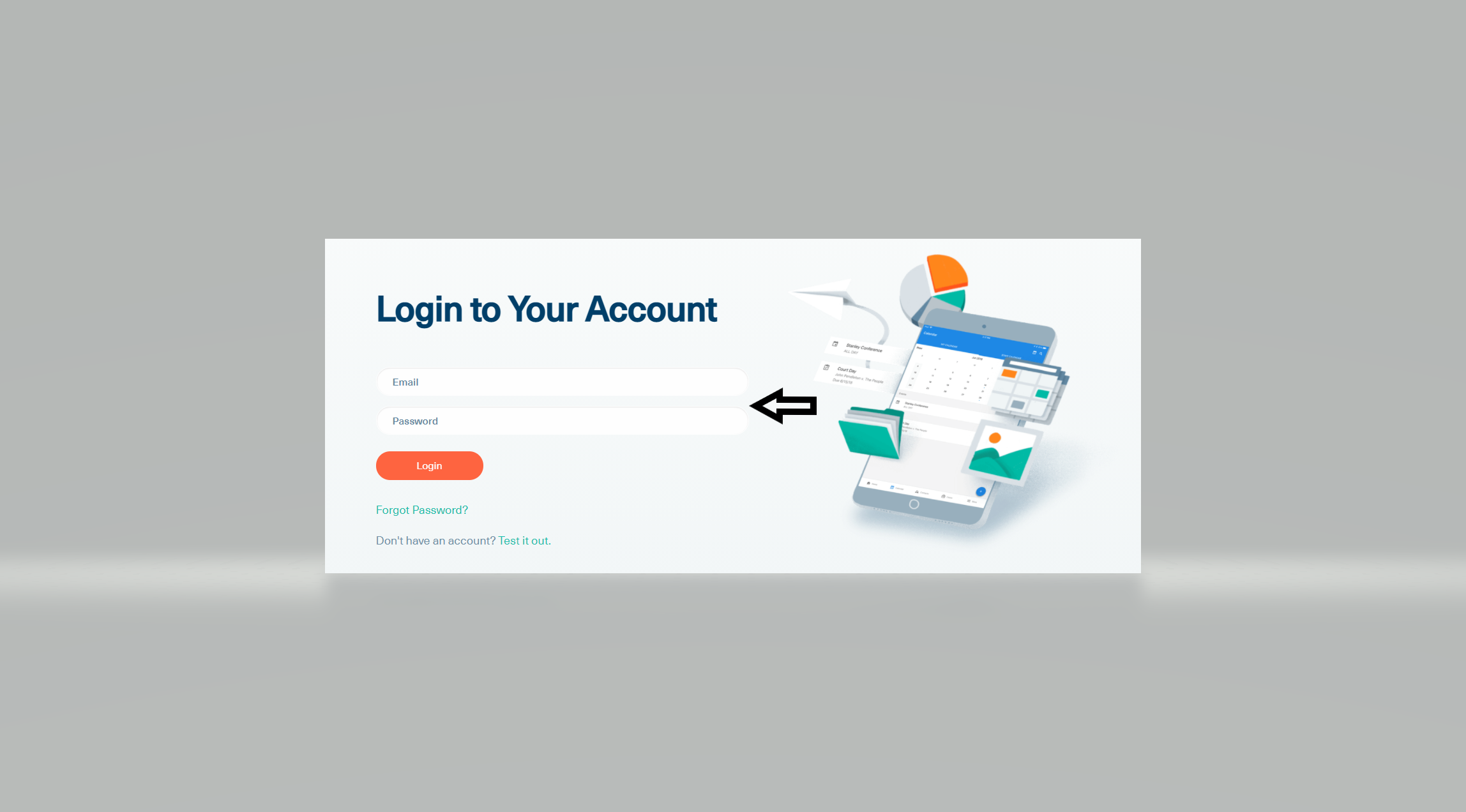 mycase client log in page