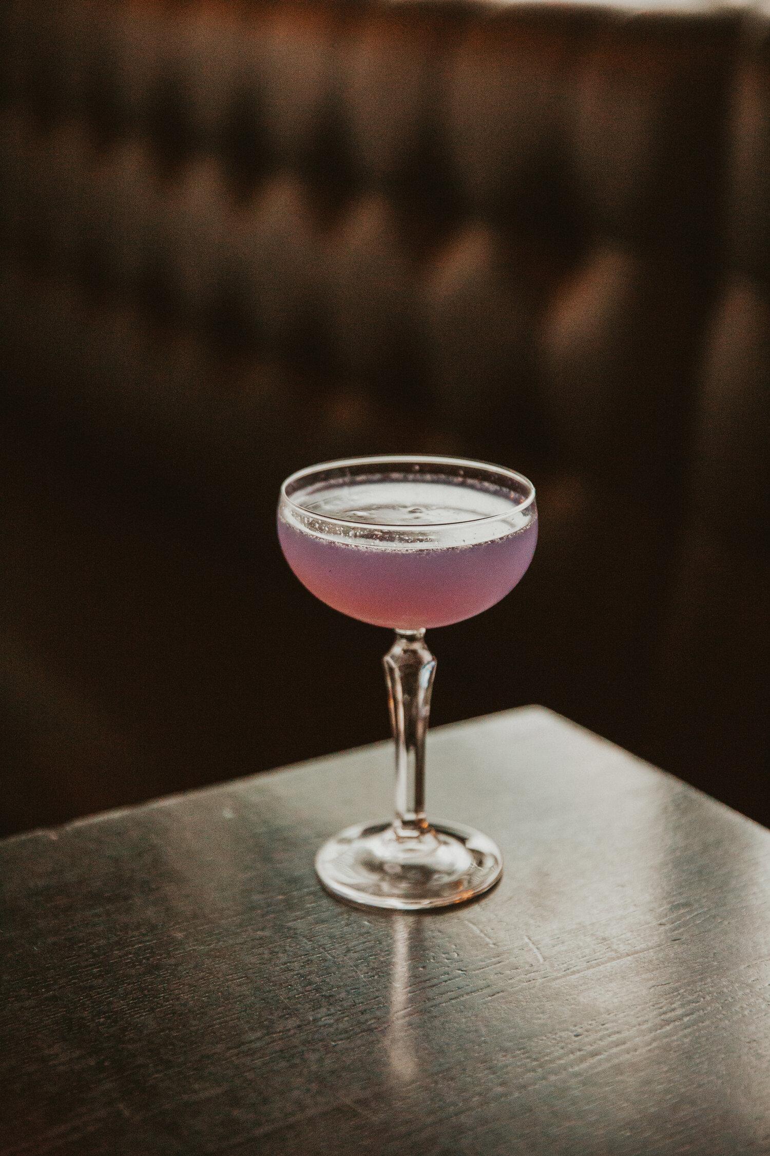 Periwinkle drink