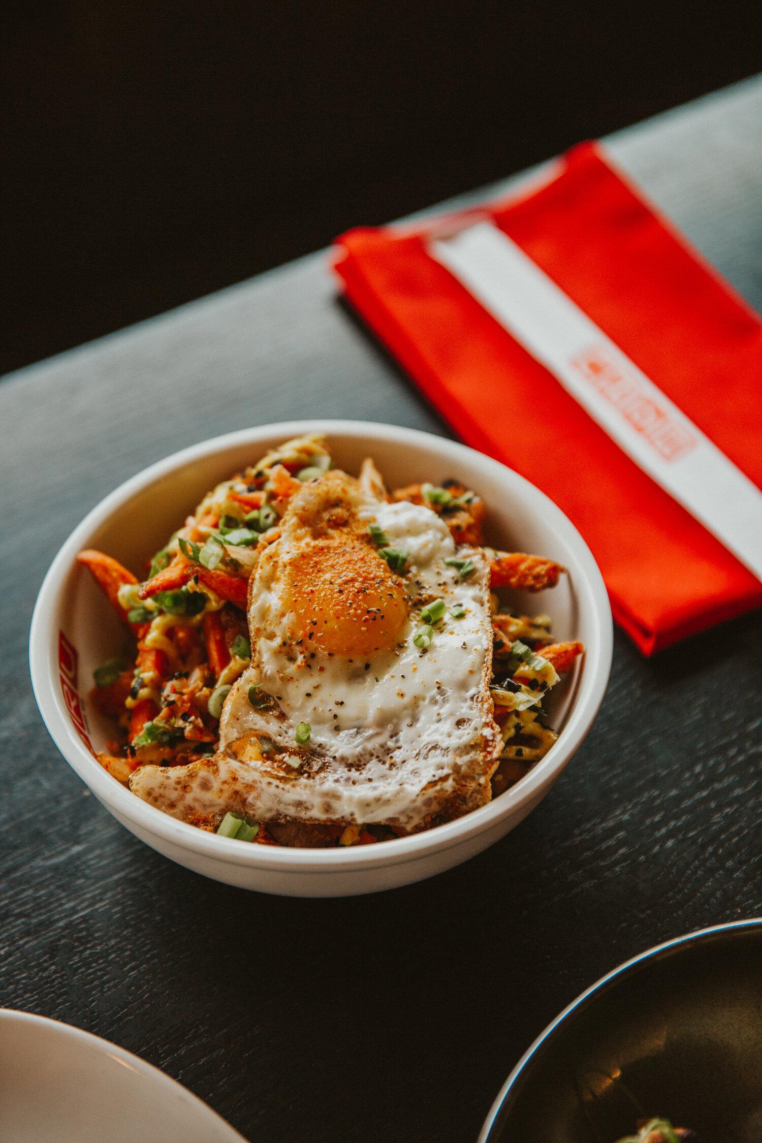 Boru Kimchi Fries