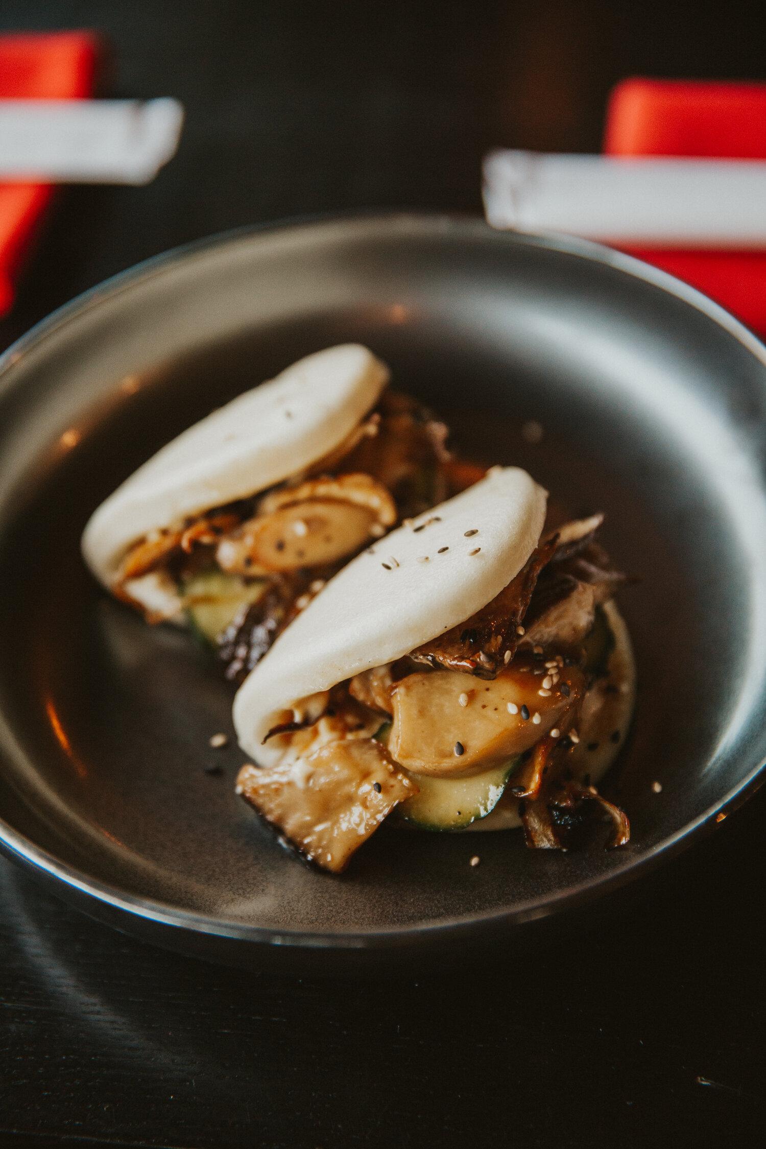 King Mushroom Baos