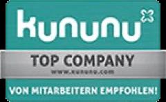 Signet: generic.de ist von kununu als Top Company ausgezeichnet.