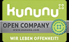 Signet: generic.de ist von kununu als Open Company ausgezeichnet