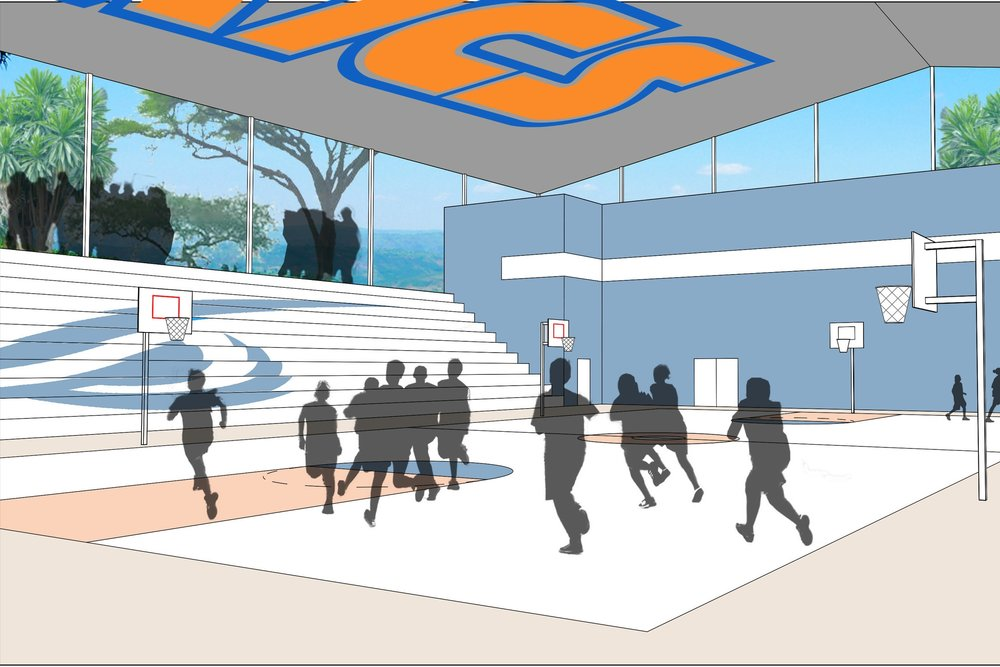 An image depicting the future baseball court