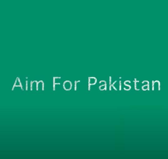 Aim for Pakistan