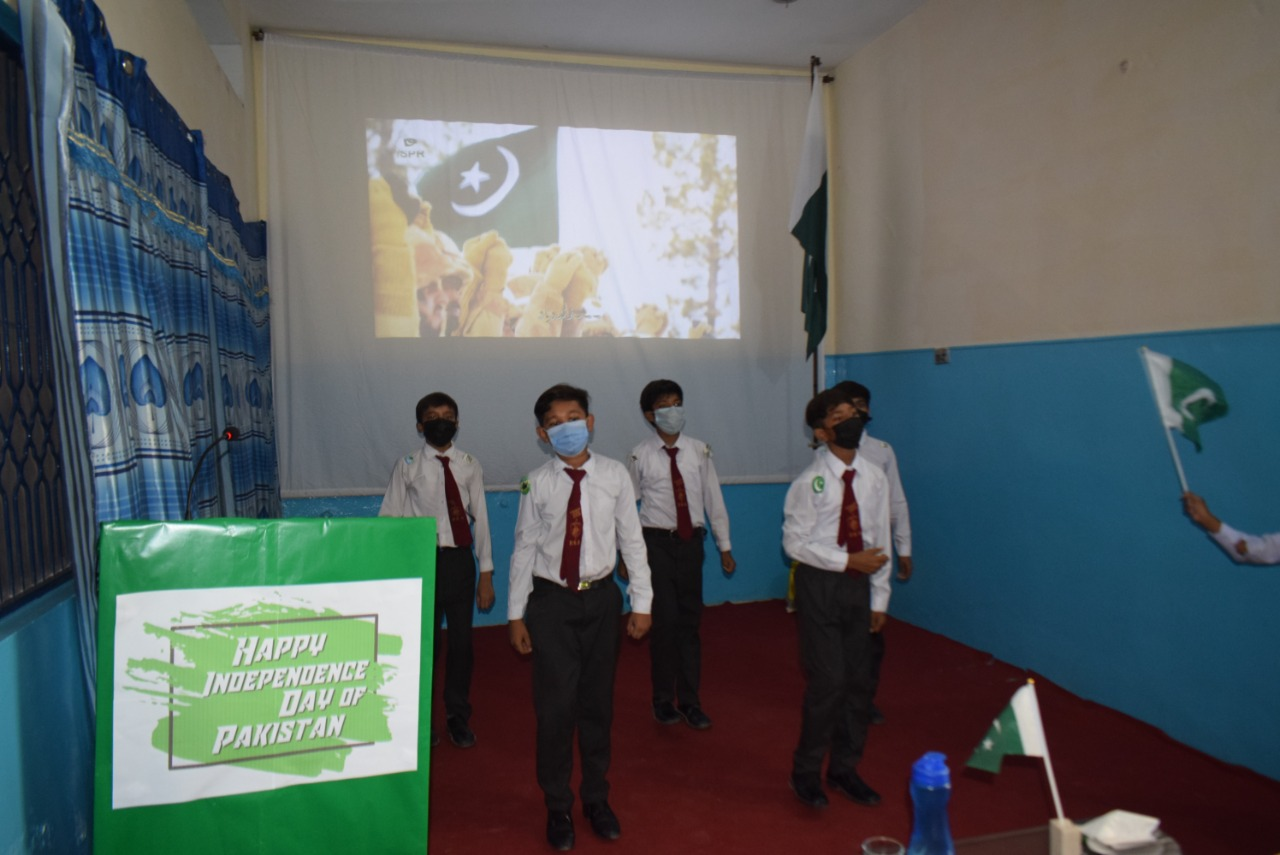 Students presenting