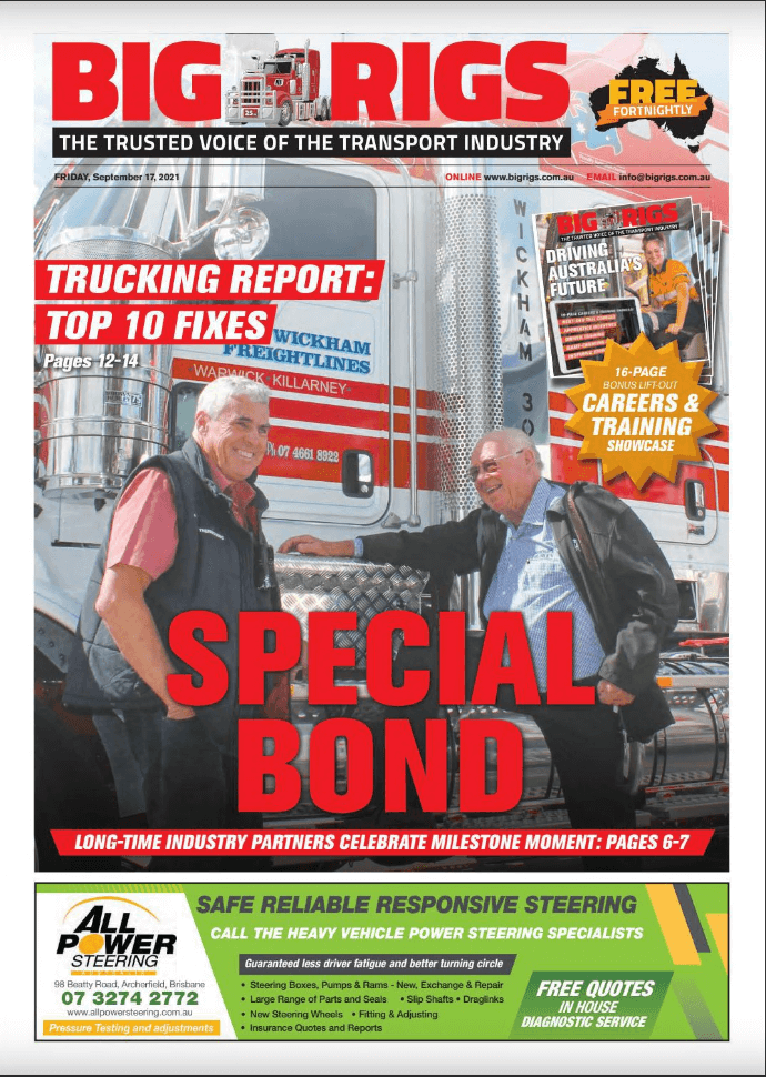 Cover Story on 'Big Rigs'
