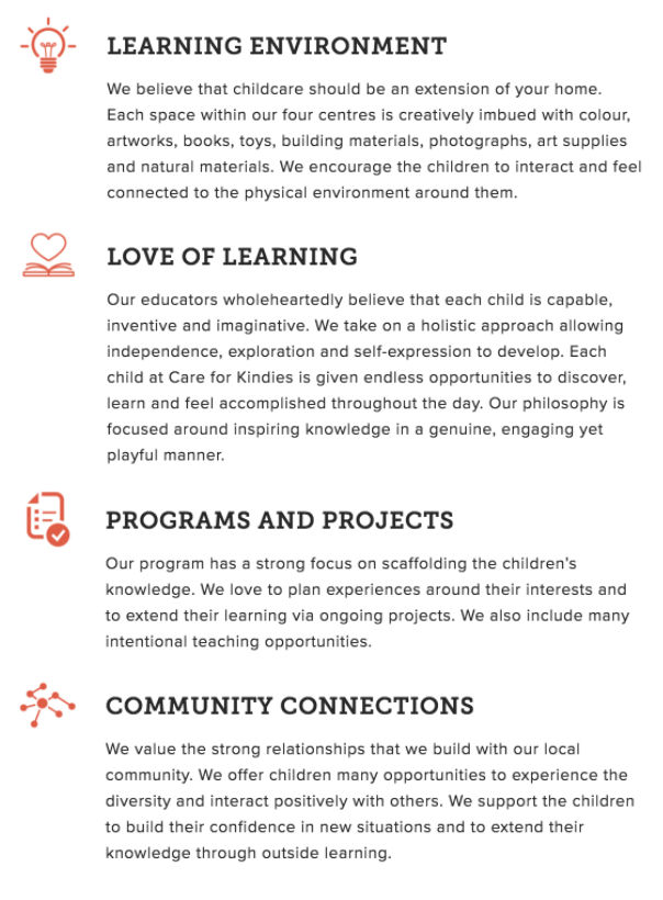 Our Learning Pillars