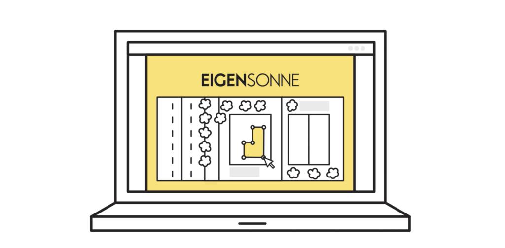 EIGENSONNE Plan the solar system installation