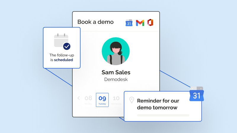 Automated Scheduling of Meetings with Demodesk