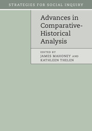 Advances in Comparative Historical Analysis