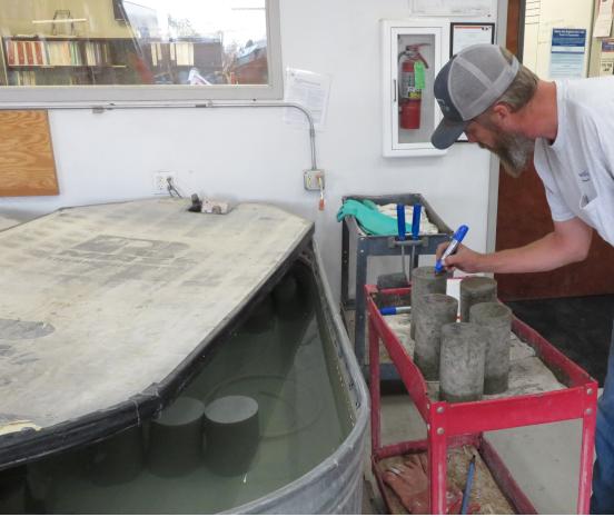 Laboratory Materials Testing