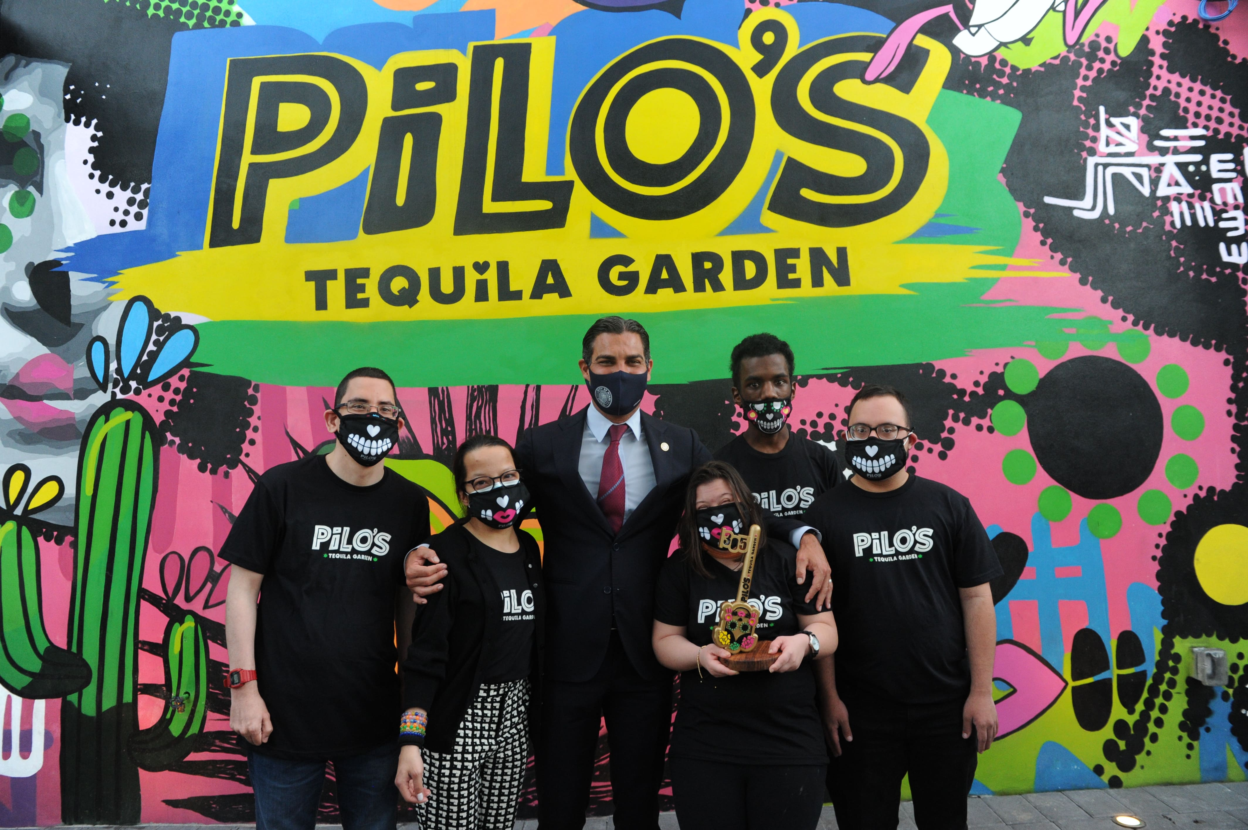 Pilo's Tequila Garden with the Major of Miami