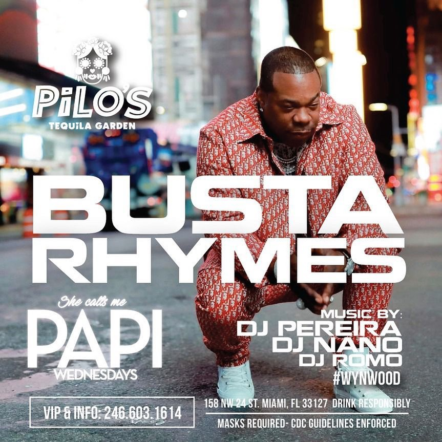 Busta Rhymes - She Calls Me Papi Wednesday's