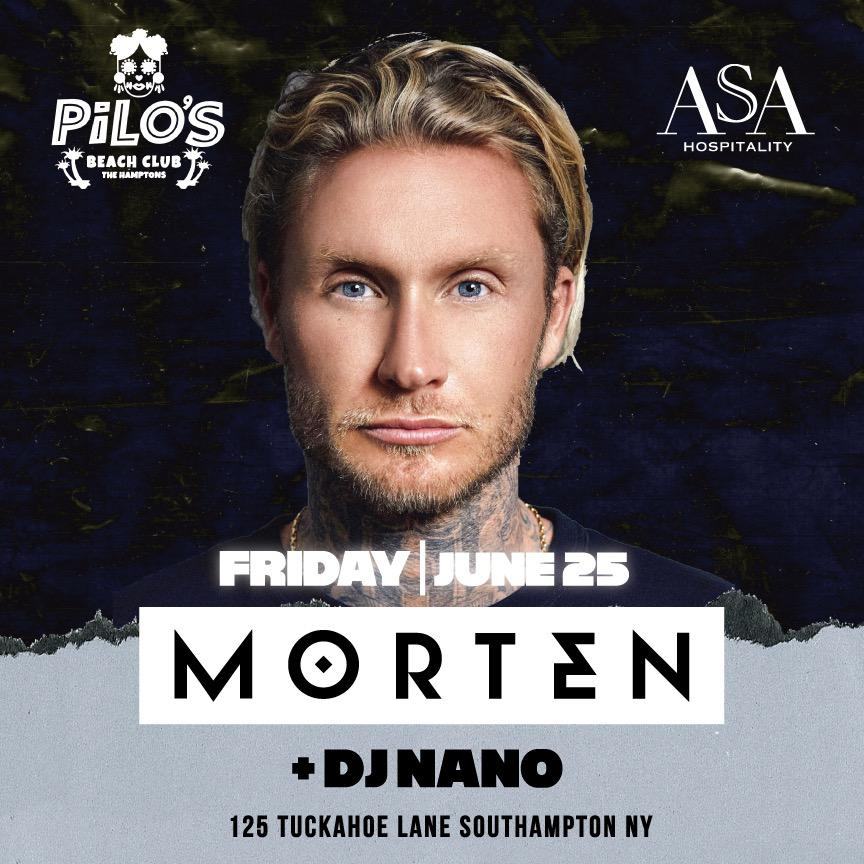 Morten + Featuring DJ Nano