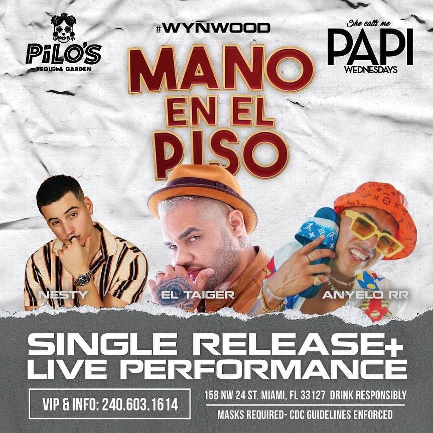 Mano En El Piso - Single Release & Live Performance