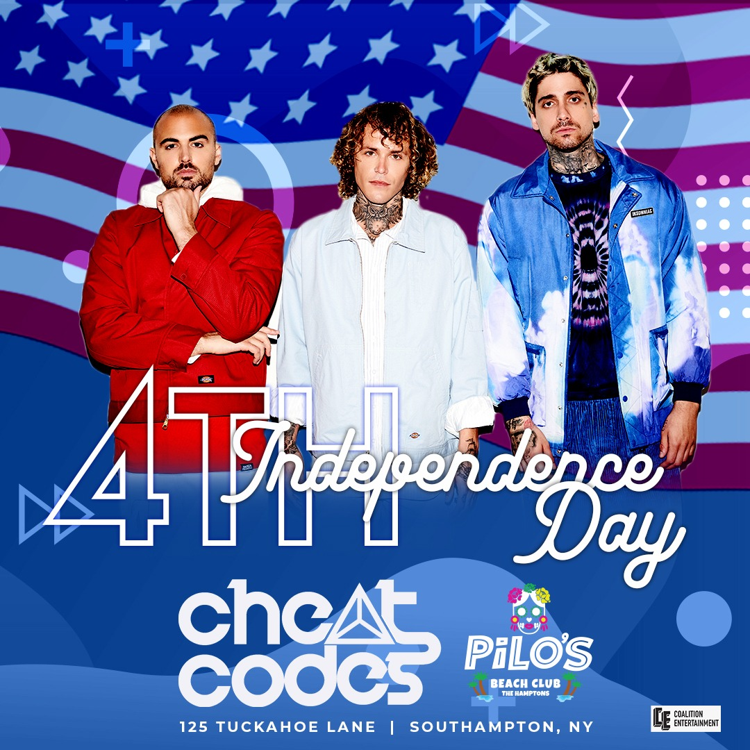 4th of July Celebration Featuring Cheat Codes