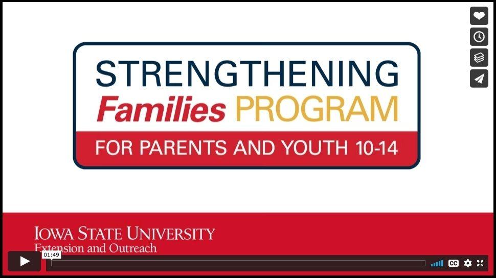 strengthening families program video