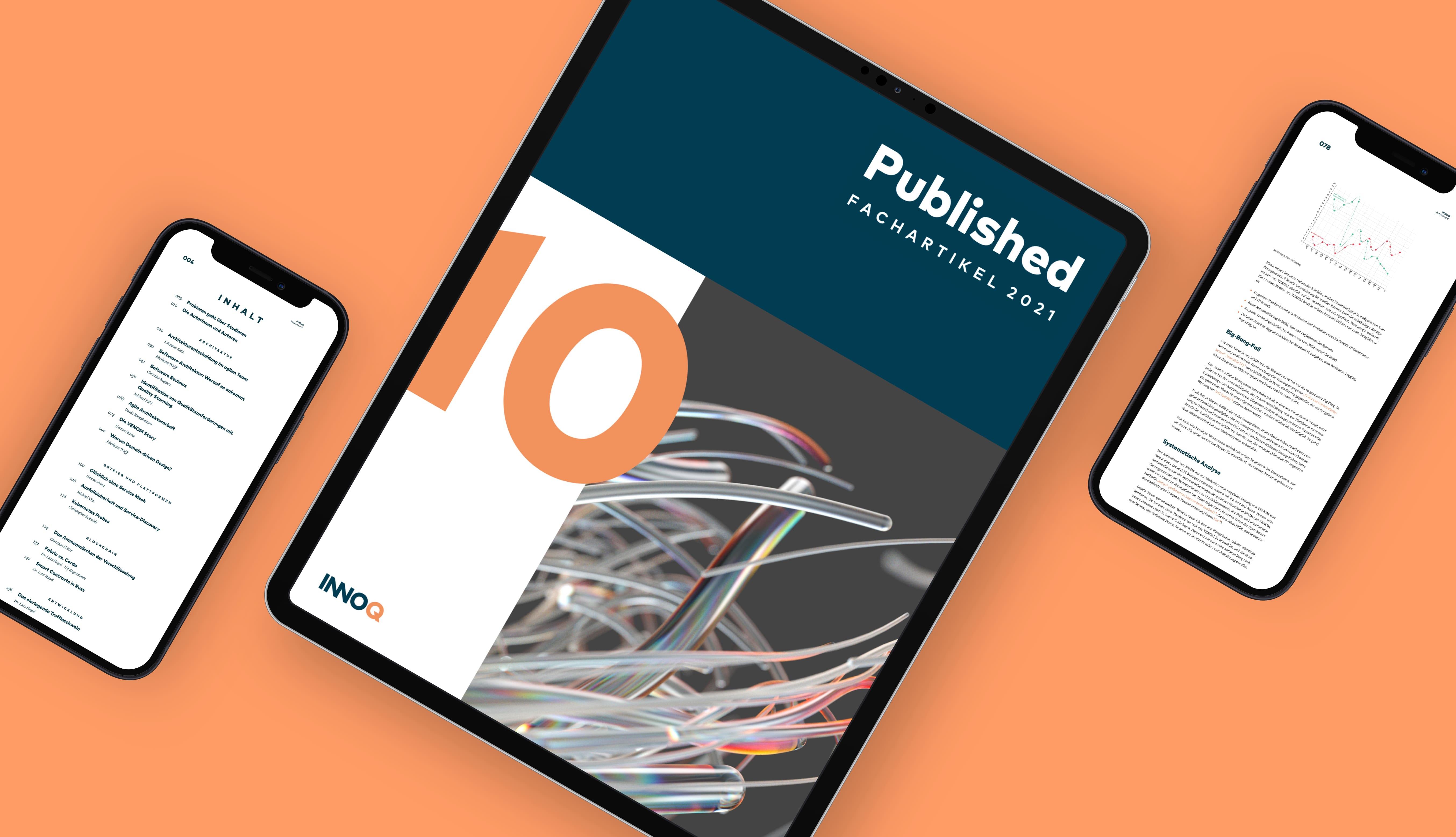 Auszüge aus Published auf iPhones und einem iPad.