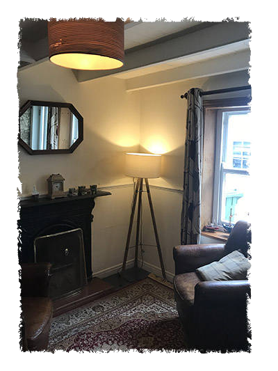 This is an image of the Lounge Room in Glaisdale Cottage, Staithes.