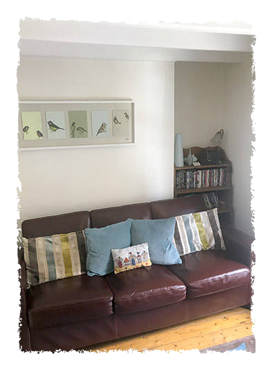 This is another image of Glaisdale Cottage Lounge Room.