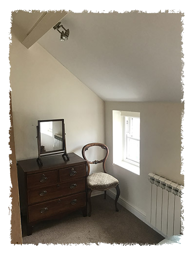 Another view of the bedroom in Confidence Cottage, Staithes.